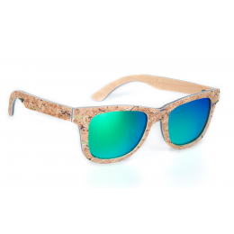 Sluneční Dřevěné Brýle – Colored Cork (Unisex)