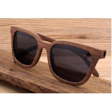 Sluneční Dřevěné Brýle – Cube (Unisex)