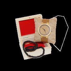 Dřevěné Hodinky - Super Light (Unisex) set