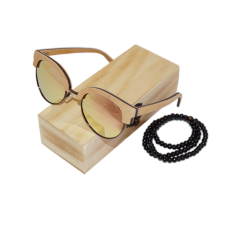 Sluneční Dřevěné Brýle – Beach (Unisex) set