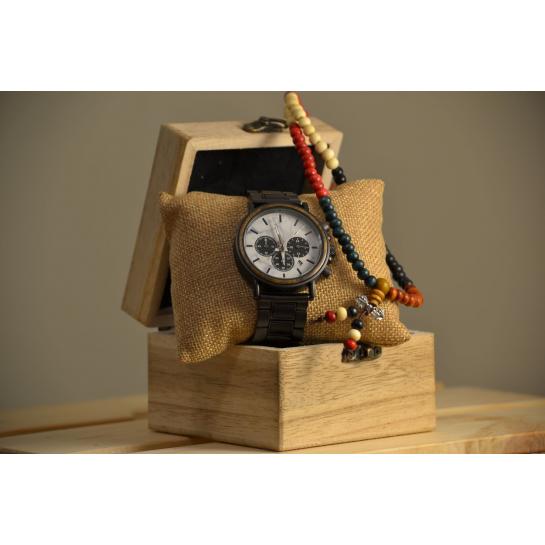 Dřevěné Hodinky – Fantastic Dark (Unisex) set