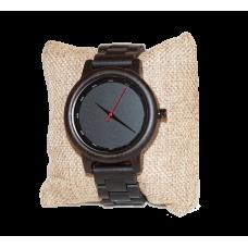 Dřevěné Hodinky – Black Ebony (Unisex)