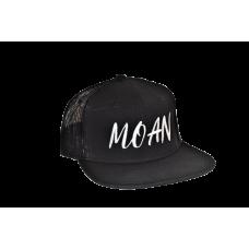 Kšiltovka - MOAN Snapback Net Cap Black