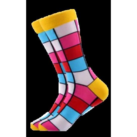Veselé ponožky – Squares