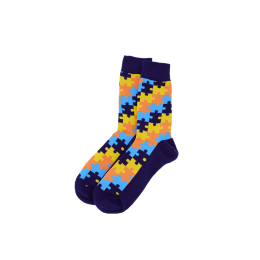 Veselé ponožky - Puzzle